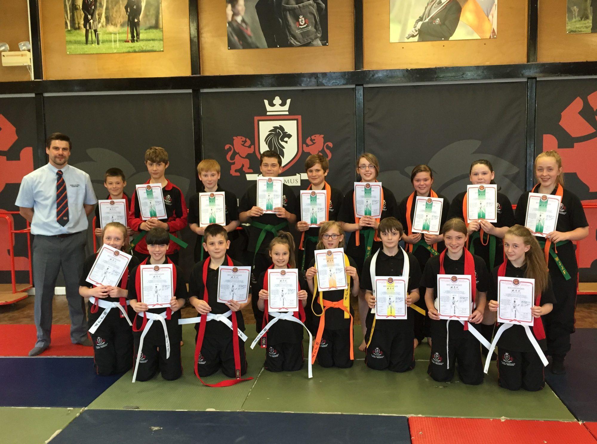 Kings Ju-Jitsu Gradings