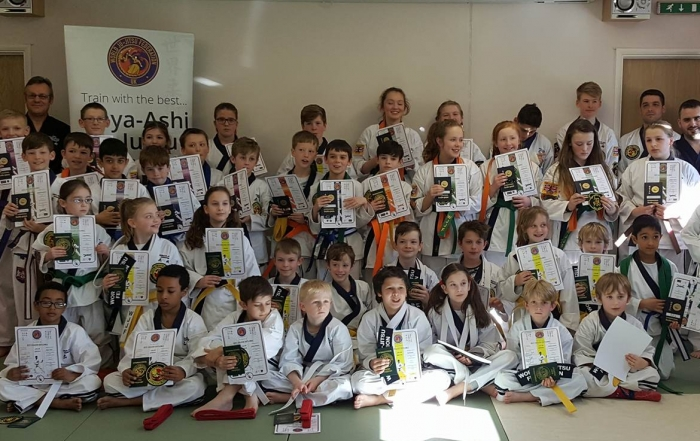 Great grading day for haya -Ashi, Norwich students. Well done.