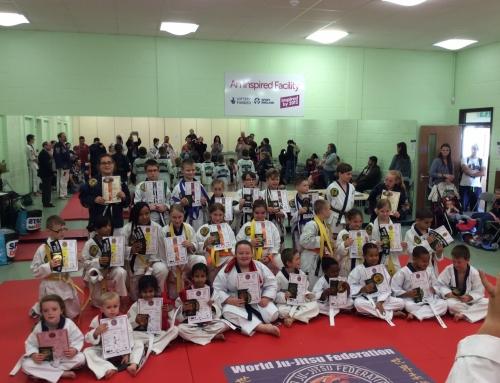 Norwich Ju-Jitsu Grading 9th September 2017