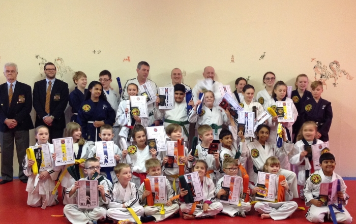 Samurai Grading Photo April 2018