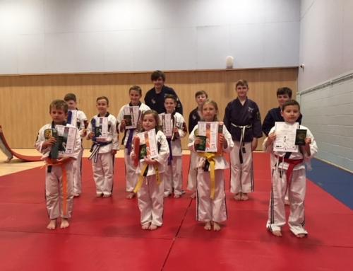 Kirkby Ju-Jitsu –  Grading 7th July 2018