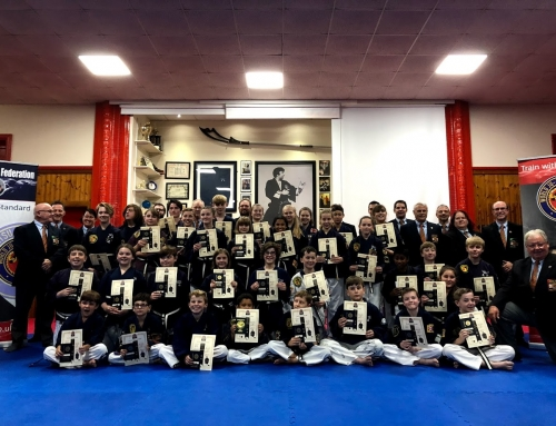 Junior Black Belt – Gold Tab Grading – The Clark Centre – Saturday 6th October 2018